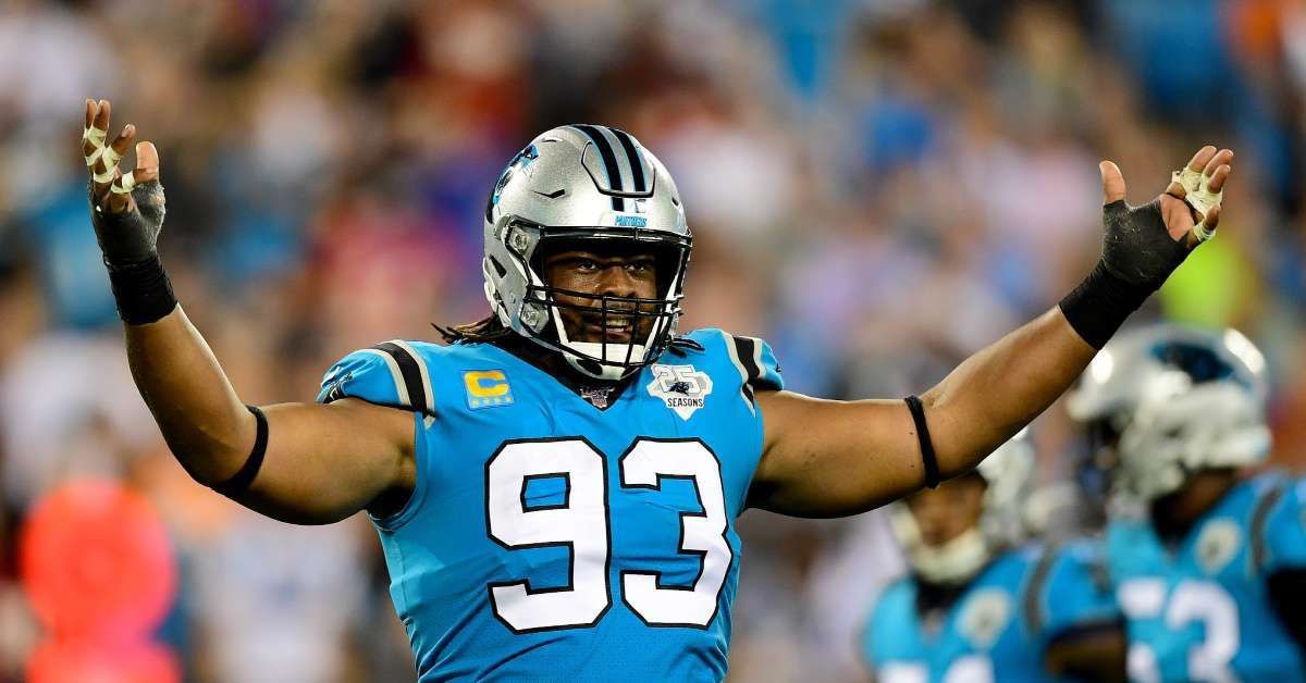 Cam Newton Teammate Gerald McCoy not happy Panther Cut QB