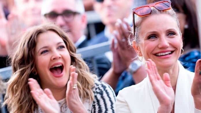 cameron diaz drew barrymore getty images