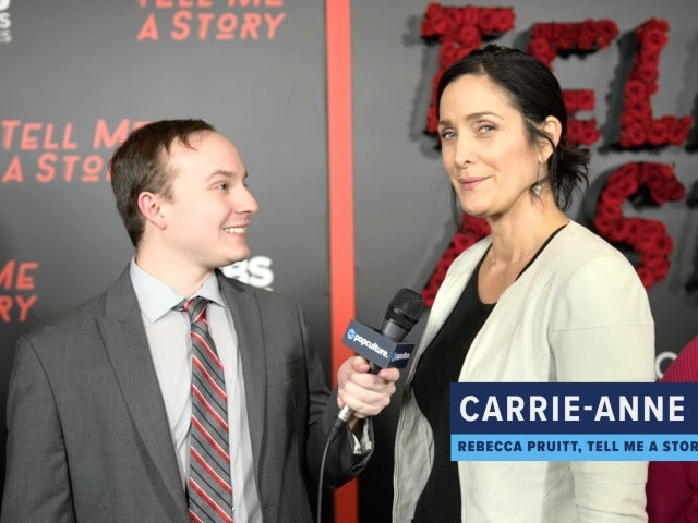 Carrie-Anne Moss Talks TELL ME A STORY
