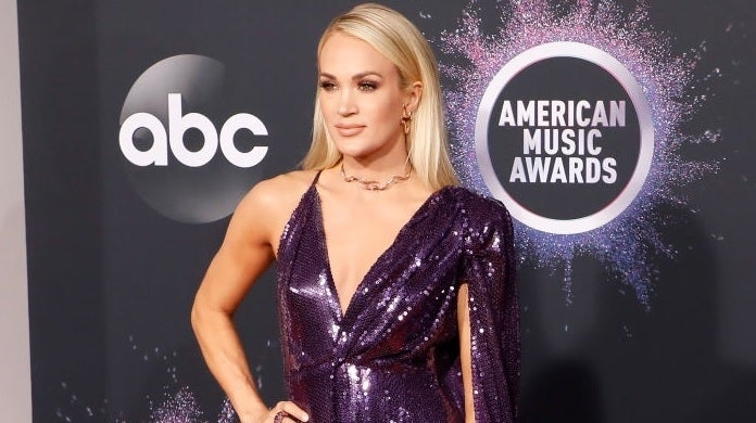 carrie underwood american music awards getty images