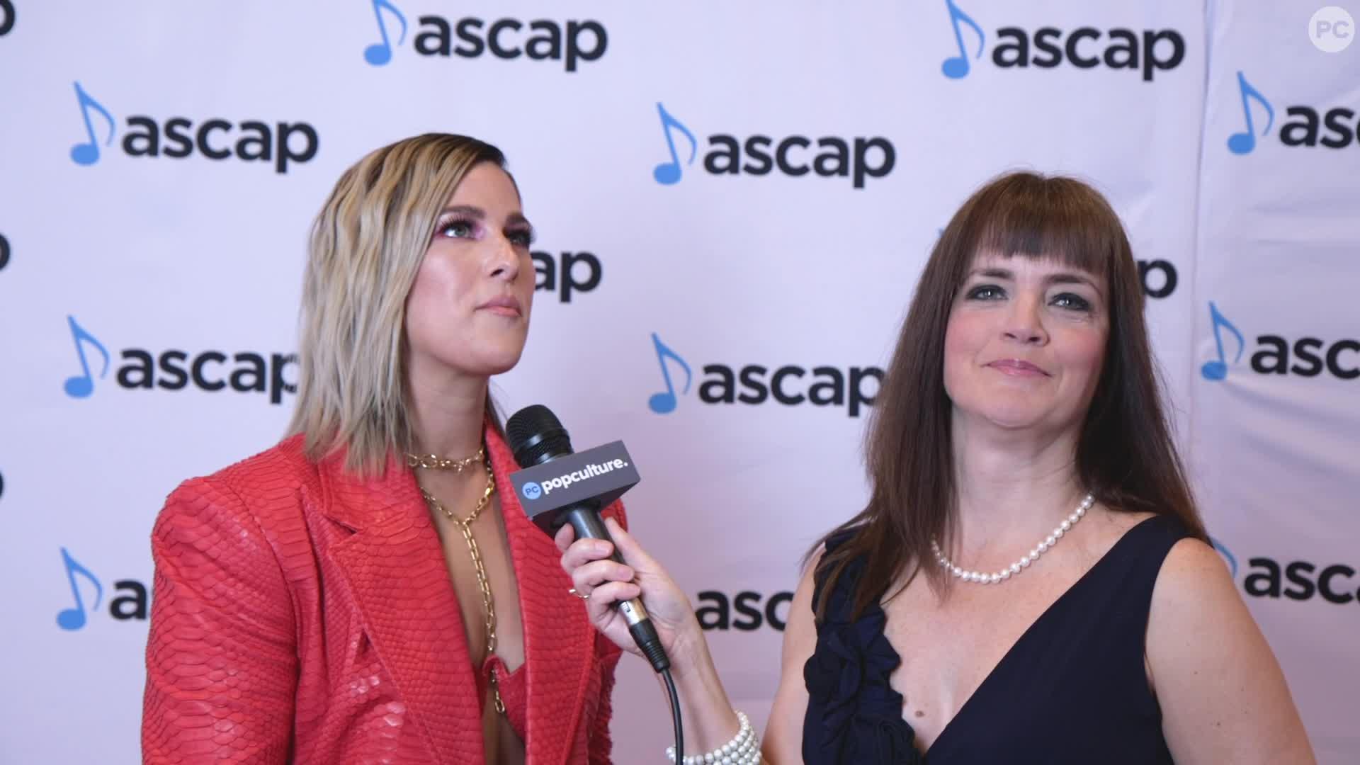 Cassadee Pope - 2019 Ascap Awards Ceremony screen capture