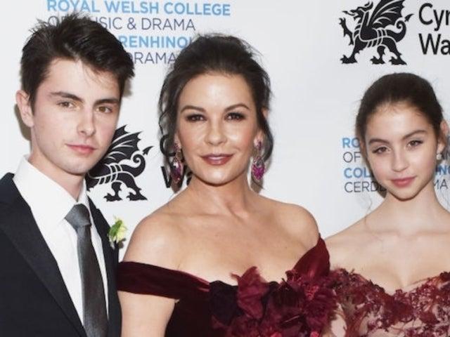 Catherine Zeta-Jones Reveals Rare Photos of Both Children With Dad Michael Douglas