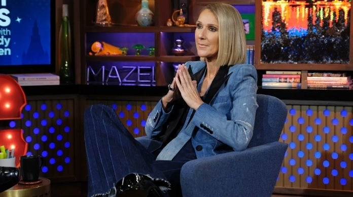 celine dion wwhl getty images