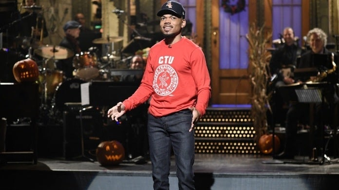 chance the rapper snl nbc getty images