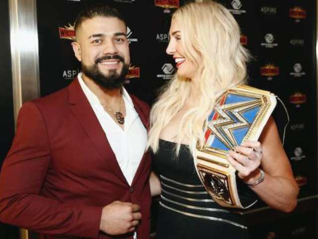 WWE's Charlotte Flair and Andrade Engaged