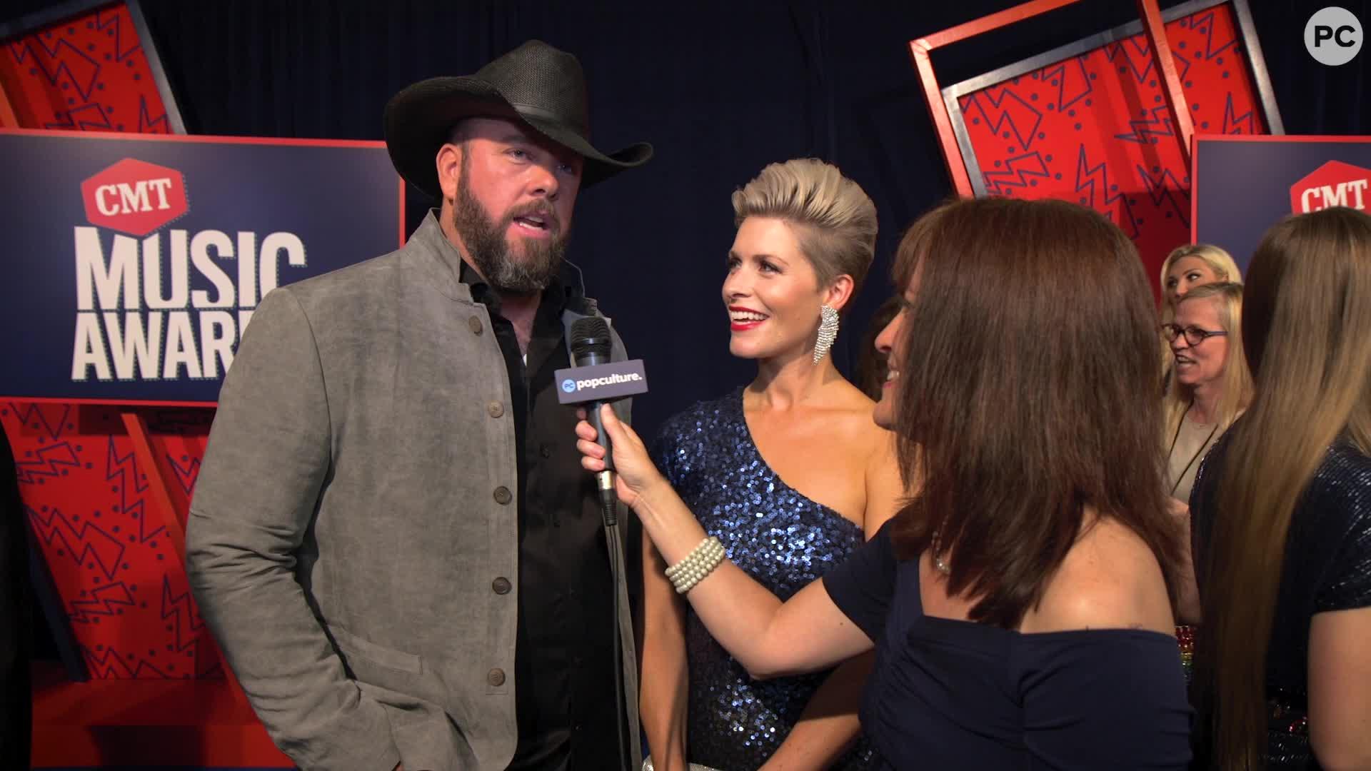 Chris Sullivan - 2019 CMT Awards Red Carpet Exclusive screen capture