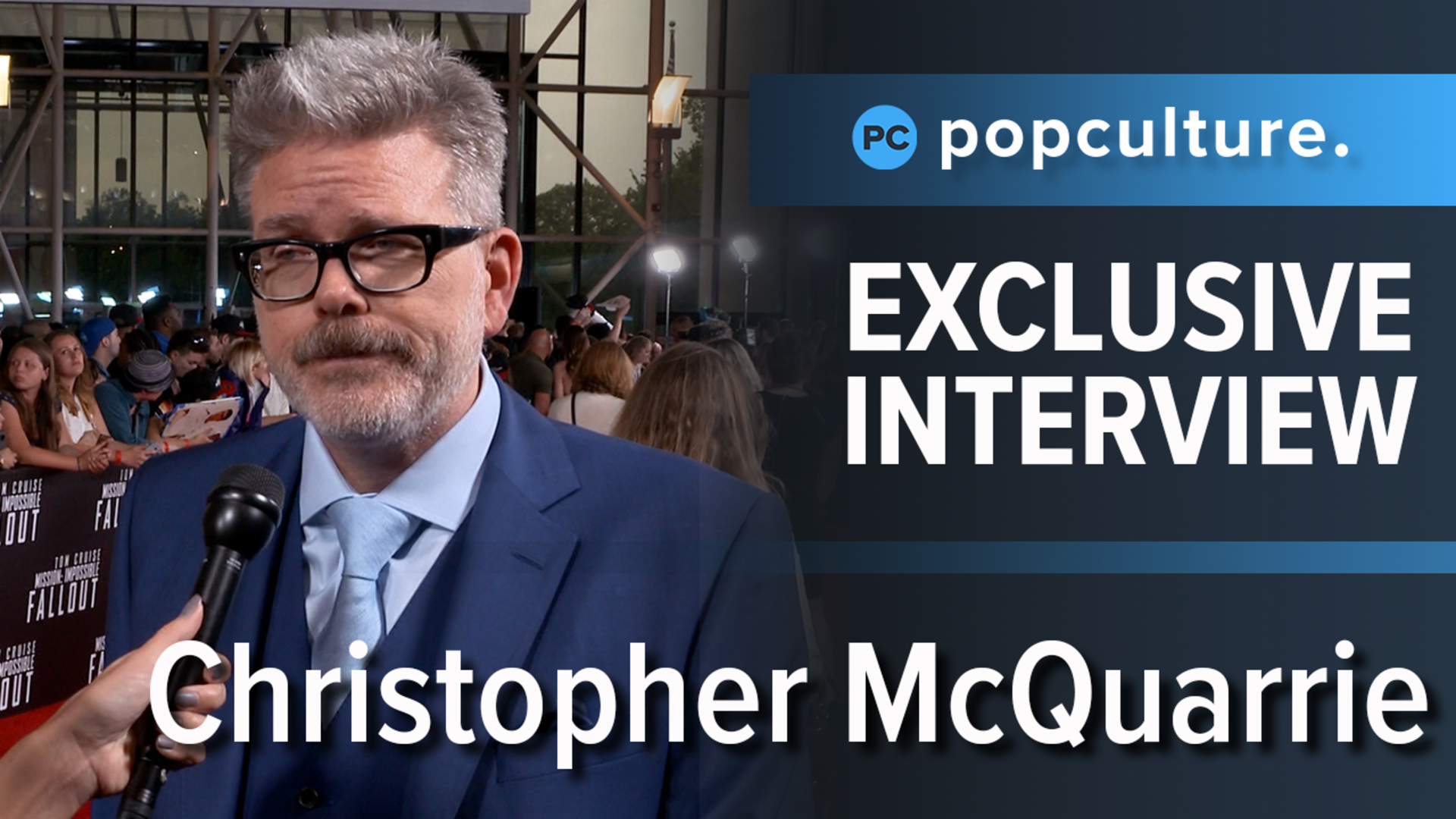 Christopher McQuarrie - Mission: Impossible - Fallout Premiere Interview screen capture