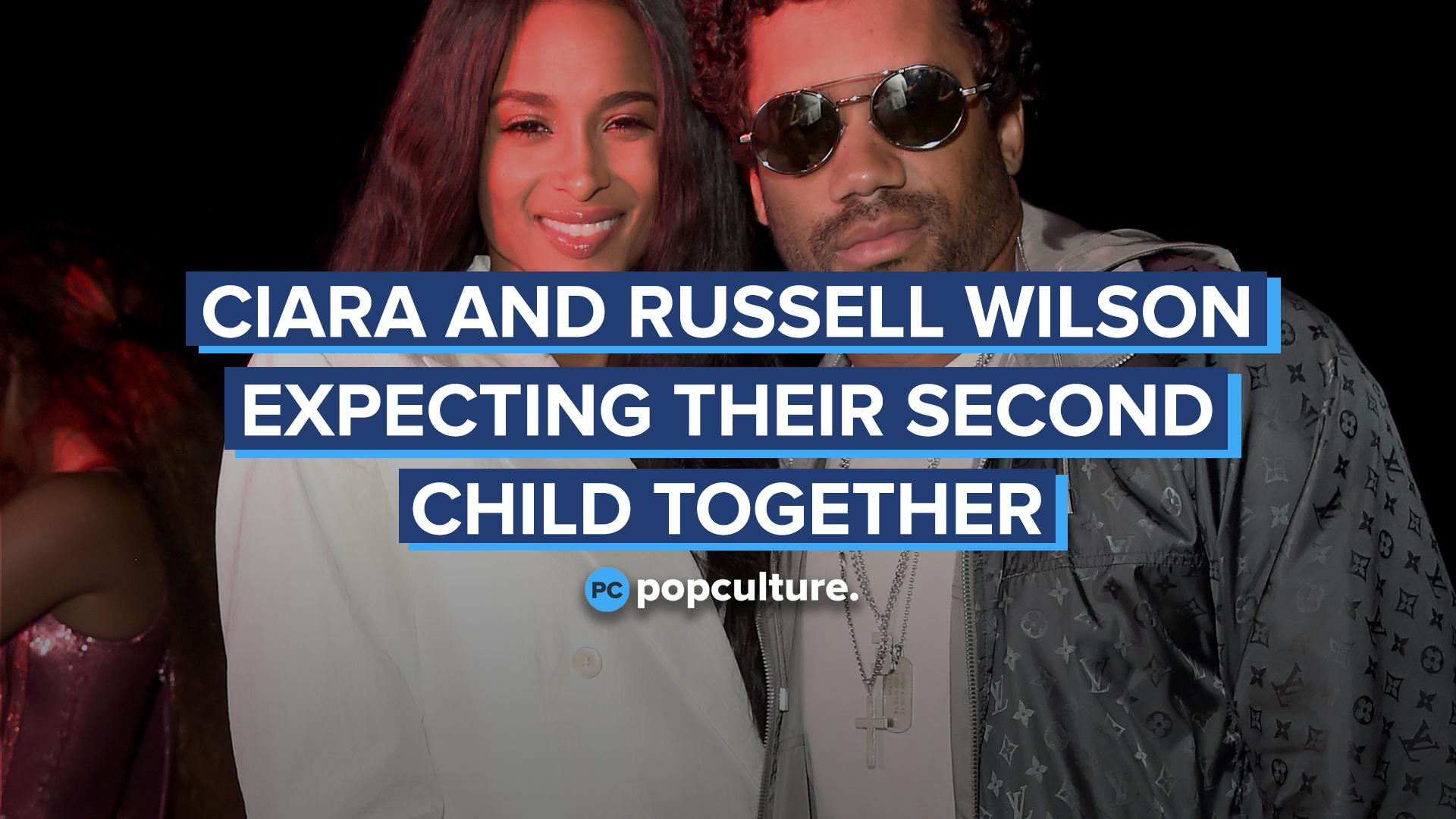 Ciara and Russell Wilson Expecting Their Second Child Together screen capture
