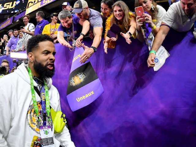 Clemson vs. LSU: Odell Beckham Jr. Offers to Sell Justin Jefferson's Cleats for $200,000, and Fans Weigh In