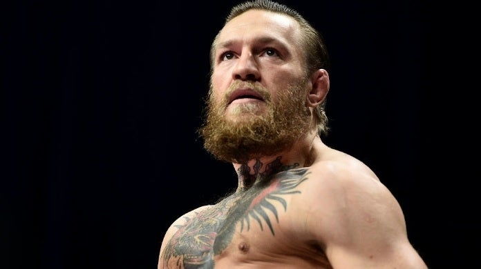 conor mcgregor weigh in getty images