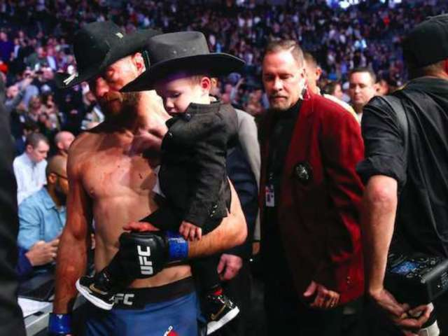UFC 246: Donald 'Cowboy' Cerrone's Fans Couldn't Get Enough of His Son's Adorable Cowboy Hat