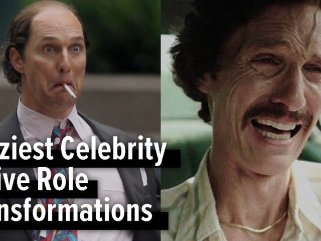 Craziest Celebrity Movie Role Transformations