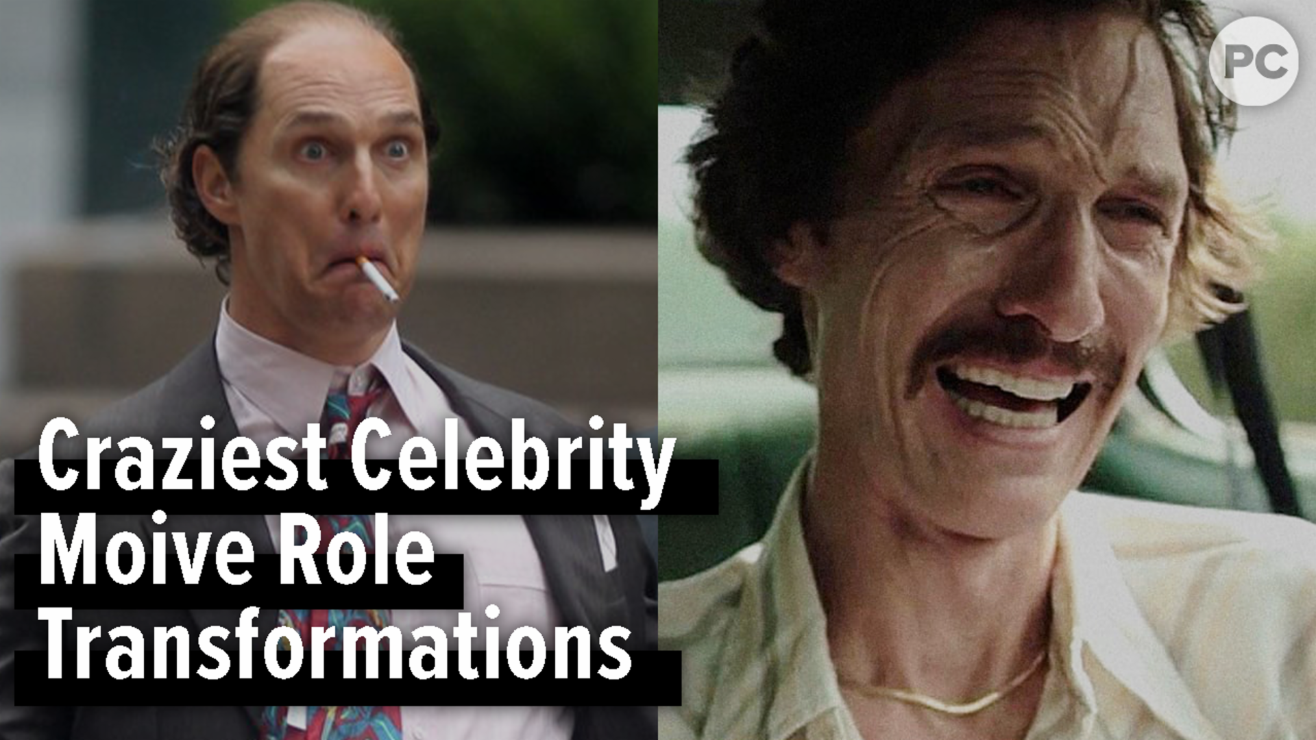 Craziest Celebrity Movie Role Transformations screen capture