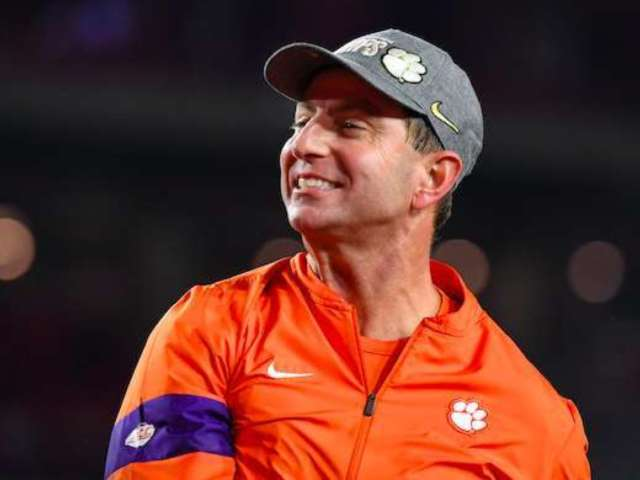 Clemson Coach Dabo Swinney Compares National Championship to 'Rocky IV'