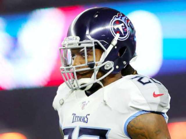 Titans' RB Derrick Henry Impresses Social Media With All-White Outfit Ahead of Playoff Game