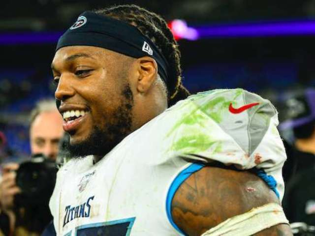 Chiefs' Frank Clark Downplays Titans' Derrick Henry, But Twitter Thinks He Will Eat His Words