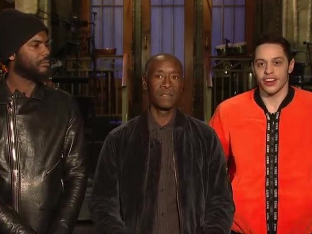 Don Cheadle Didn't Get the SNL Cast a Valentine's Day Gift