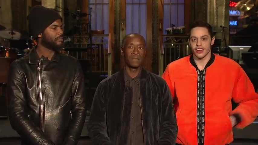 Don Cheadle Didn't Get the SNL Cast a Valentine's Day Gift screen capture