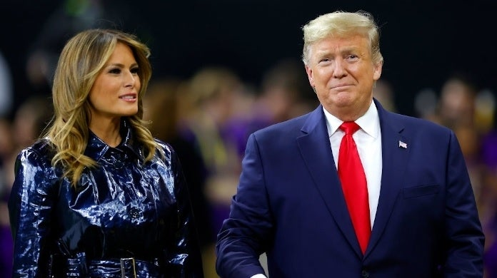donald trump melania cfp getty images
