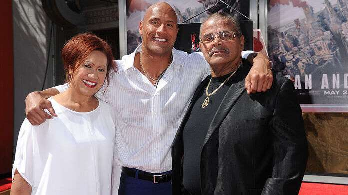 Dwayne-Johnson-Father