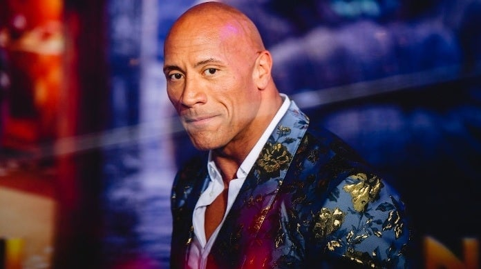 dwayne johnson getty images