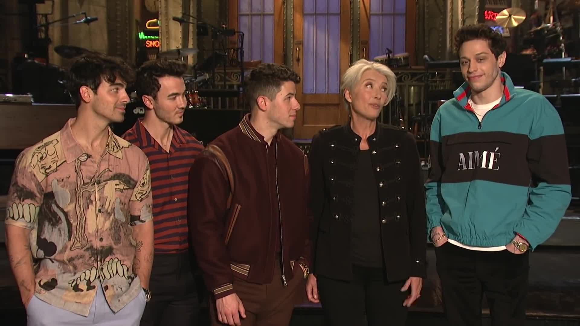Emma Thompson Gets the Best Mother's Day Gift - SNL Promo screen capture