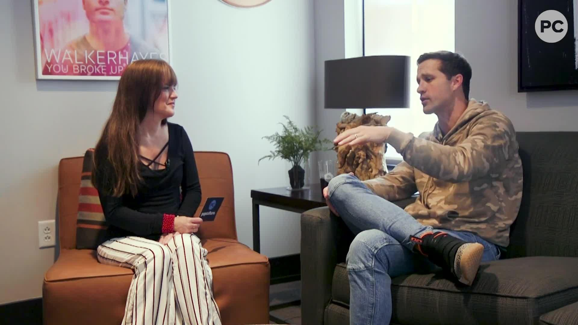 Exclusive Interview with Walker Hayes screen capture