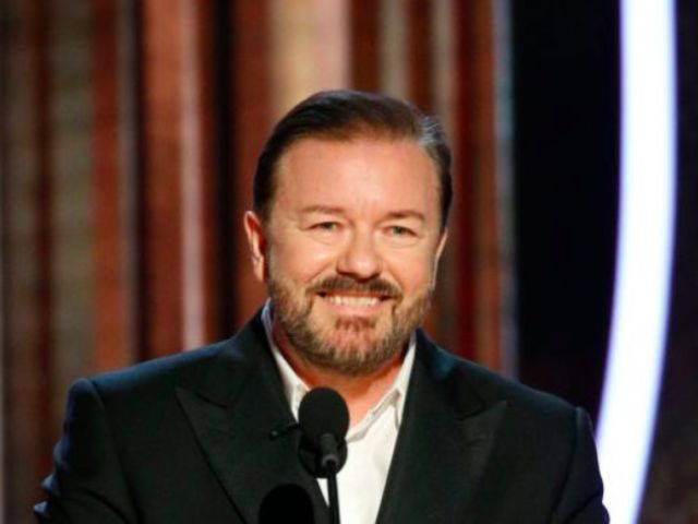 Golden Globes 2020: Twitter Can't Stop Laughing at Ricky Gervais' Scathing Opening Monologue