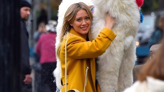hilary duff getty images
