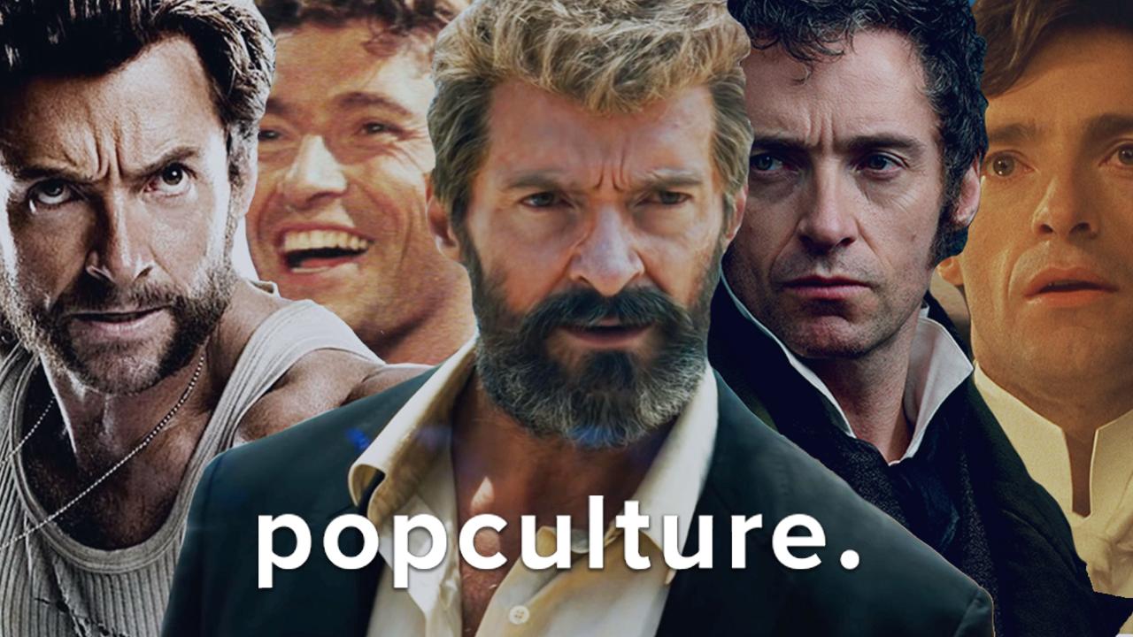 Hugh Jackman Face Morph - PopCulture screen capture