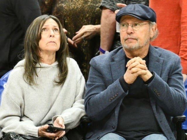 Billy Crystal and Wife Janice Attend First NBA Game in Staples Center Following Kobe Bryant's Death