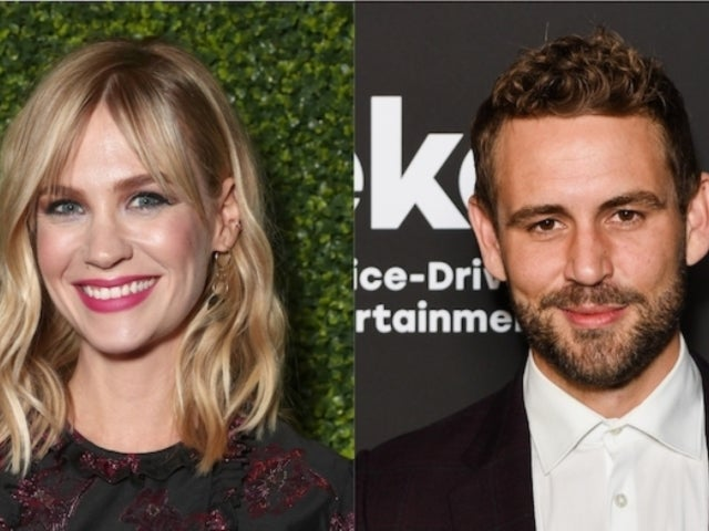 January Jones Confirms She Once Dated 'Bachelor' Nick Viall After He 'Slid Into Her DMs'