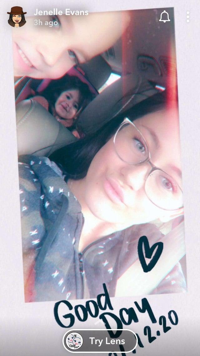 jenelle-evans-instagram-snapchat-kids
