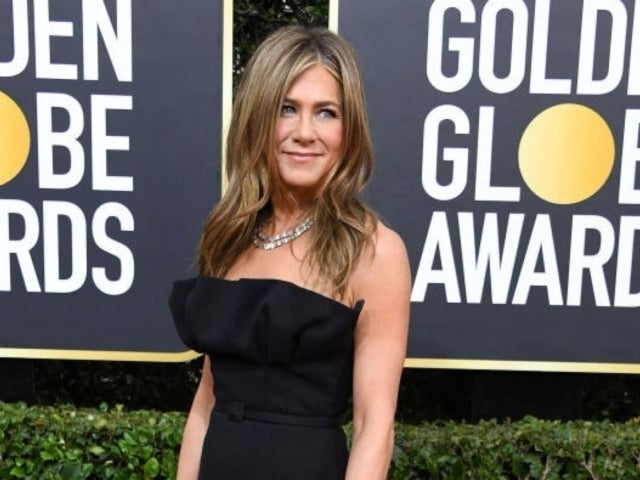 Golden Globes 2020: See Jennifer Aniston's Reaction to Brad Pitt's Joke About His Dating Life