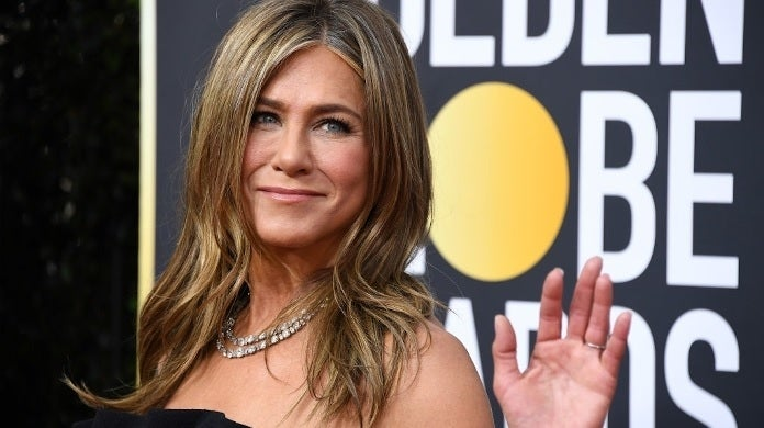jennifer aniston golden globes 2020 getty images 2