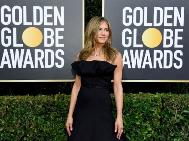 Golden Globes 2020: Jennifer Aniston's Sleek Black Dress Has Fans Calling Her Out