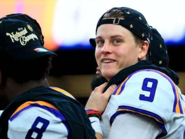 LSU QB Joe Burrow Says He Received Real Money From Odell Beckham Jr.