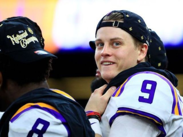 Joe Burrow: Old Row Reacts to LSU's QB Wears Their 'Big D— Joe' Hat After Defeating Clemson