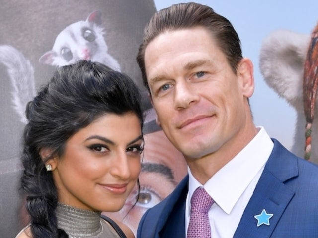 John Cena Kisses Girlfriend Shay Shariatzadeh at 'Dolittle' Premiere