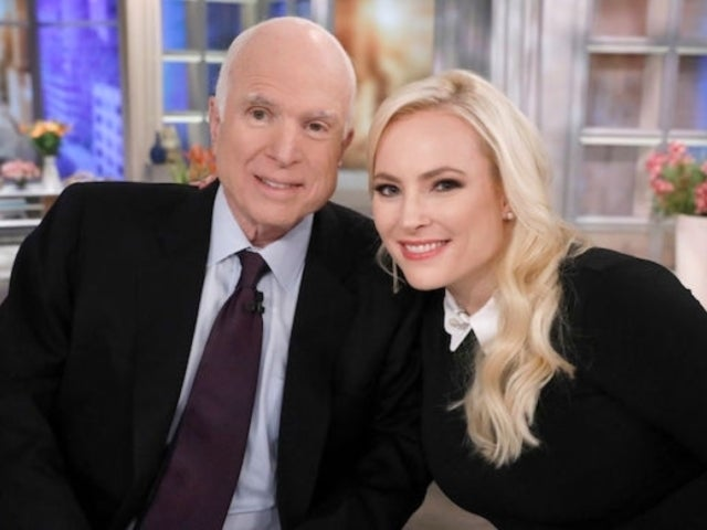 'The View' Co-Host Meghan McCain Says She'd 'Cut off' a Limb to Talk to Her Dad John Again