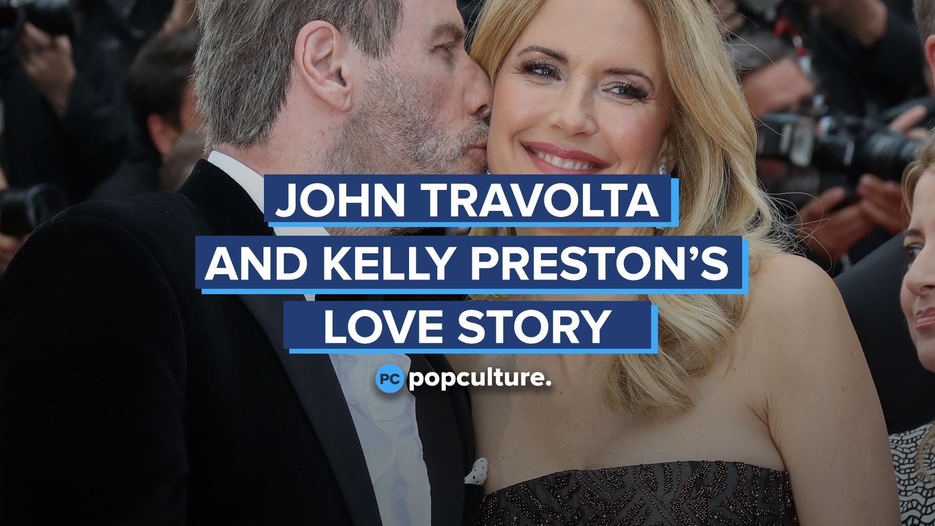 John Travolta and Kelly Preston's Love Story screen capture