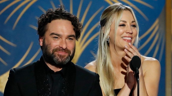 johnny-galecki-kaley-cuoco-getty