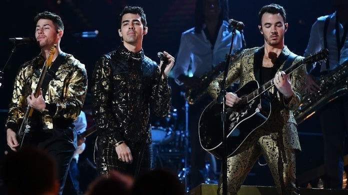 jonas brothers getty images grammys