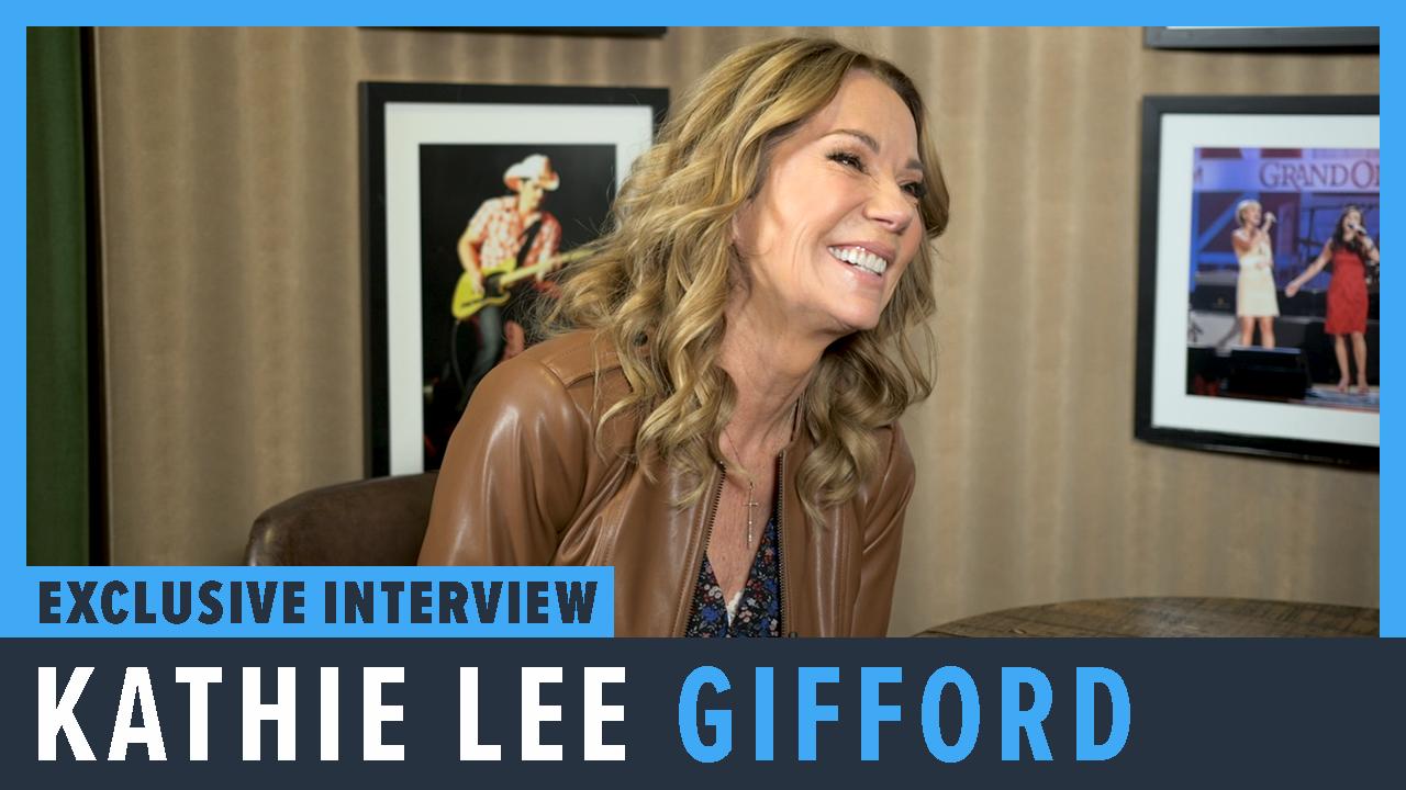 Kathie Lee Gifford - PopCulture.com Exclusive Interview screen capture