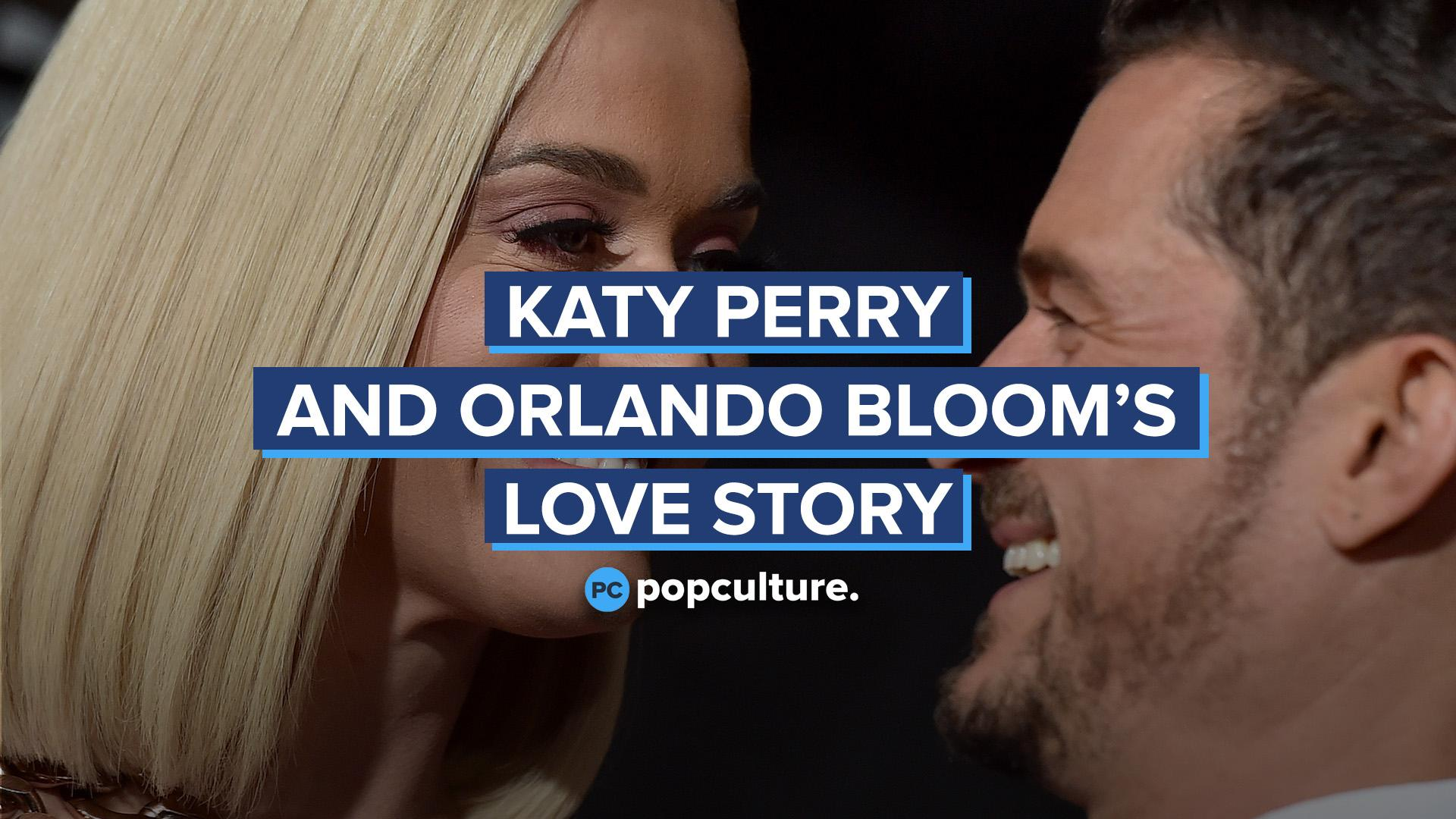 Katy Perry and Orlando Bloom's Love Story screen capture
