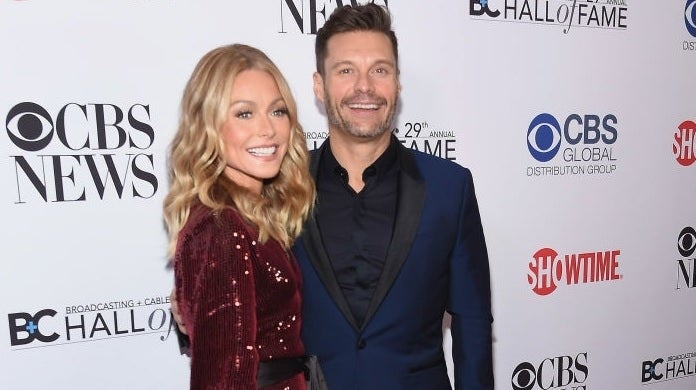 kelly ripa ryan seacrest getty images