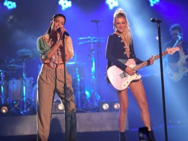 Watch Kelsea Ballerini and Halsey Perform 'Graveyard' for 'CMT Crossroads'