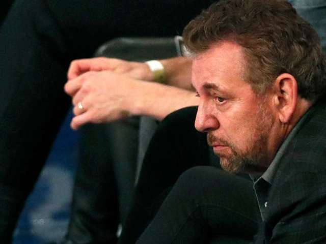 Knicks Loss Ends in Chaos, Fans Chant 'Sell the Team' to Owner James Dolan