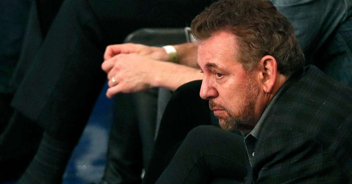 Knicks loss ends chaos sell the team owner James Dolan