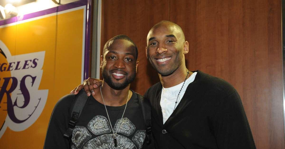 Kobe Bryant Dead Dwyane Wade reaction